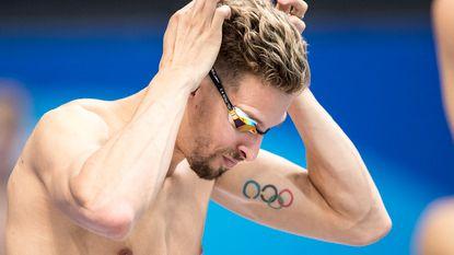Pieter Timmers zwemt 31e tijd in reeksen 200 meter vrije slag