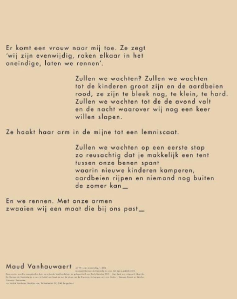 null Beeld kos / Maud Vanhauwaert