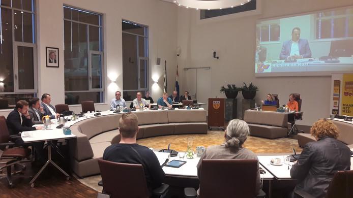 Opiniërende vergadering van de gemeenteraad van Loon op Zand.