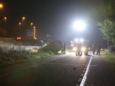 Hulpdiensten rukken uit voor ongeluk bij A59 in Vinkel