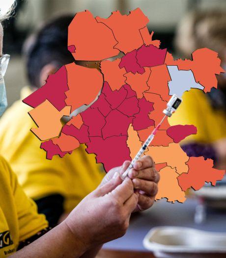 KAART | Virus vergroot zijn invloed op de Veluwe, 50-plussers vallen op in de cijfers over het hele land