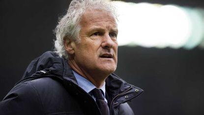 Witte rook: Fred Rutten (56) is de nieuwe coach van Anderlecht