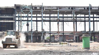 Samsonite bouwt magazijn op site vroegere centrale