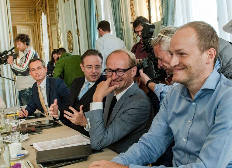 Lorin Parys en Bart De Wever worden zo goed als zeker geen minister, Ben Weyts wacht net als Zuhal Demir een portefeuille.