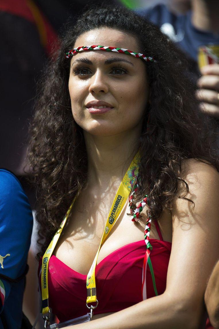 Deze Italiaanse schone moet hopen op een draw tegen Uruguay in wedstrijd drie Beeld PHOTO_NEWS
