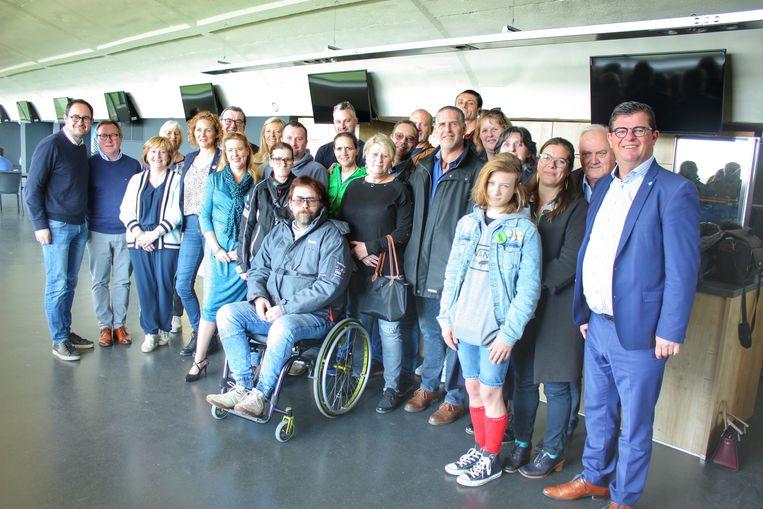 Er kwamen heel wat kandidaten naar de Wellingtonrenbaan in Oostende voor de casting