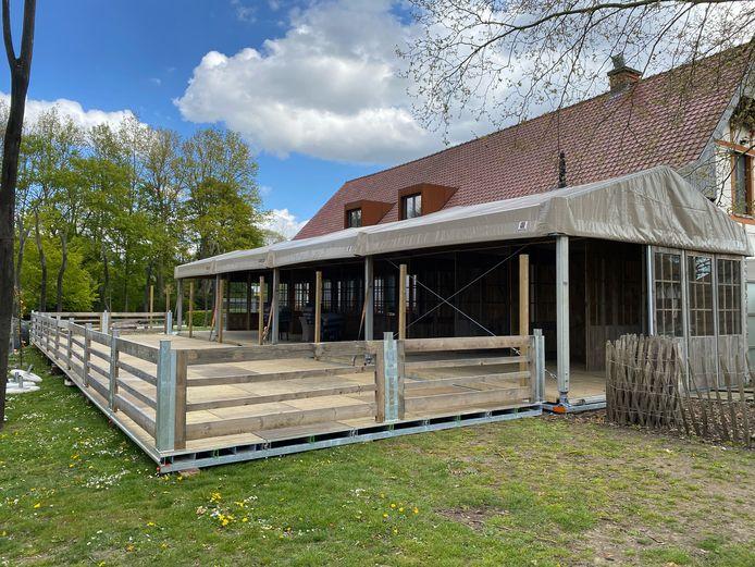 Koklikoo huurt het overdekt terras van Geco Concept uit Boom.