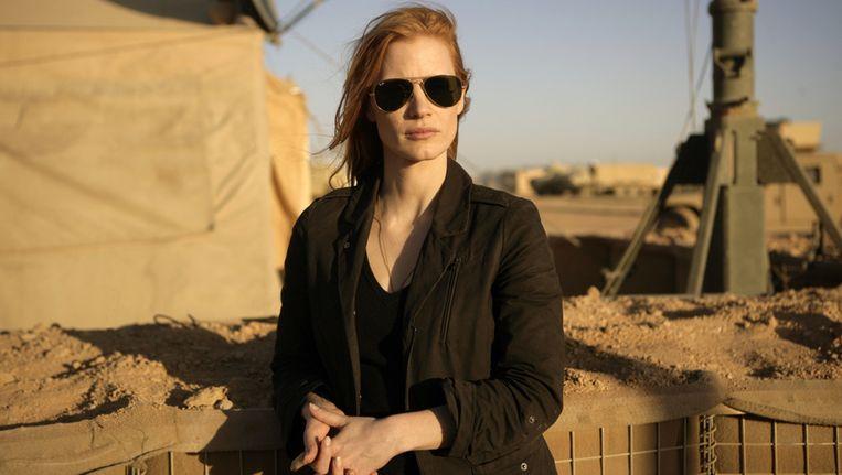 De rol van Maya (gespeeld door Jessica Chastain) werd aangepast om de CIA ter wille te zijn. Beeld Columbia Pictures