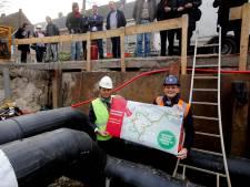 Warmtenet haalt Dordrecht van het gas, behalve de binnenstad