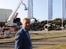 Burgemeester Metz bezoekt getroffen bedrijventerrein Soesterberg: 'Troosteloze ravage'