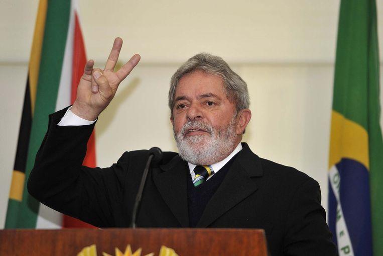 Luiz Inácio Lula da Silva in 2010. Beeld anp