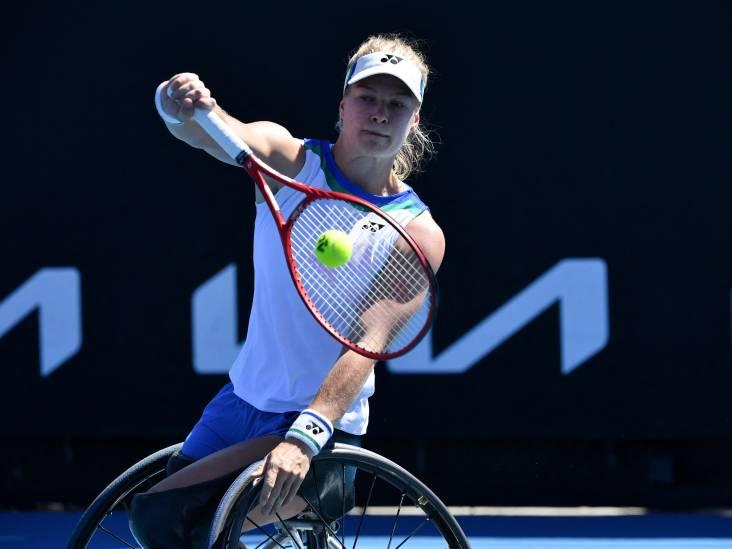 Rolstoeltennister Diede de Groot in finale op Wimbledon
