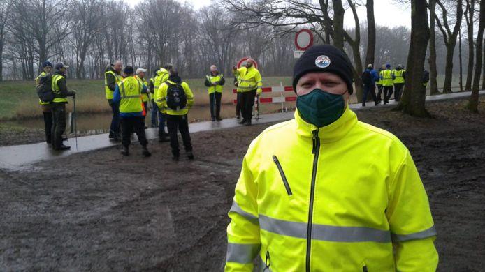 Dennis van der Kraats, voorzitter van Stichting Veteranen Search Team.