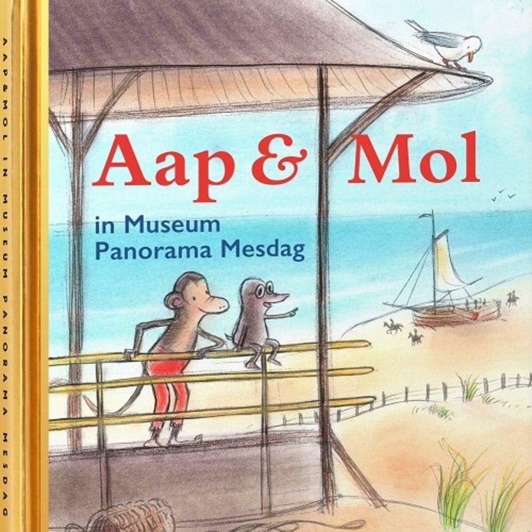 Gitte Spee, Aap & Mol in MuseumPanorama Mesdag, Museum Panorama Mesdag en Rubinstein, €7,99, 32 blz. Beeld
