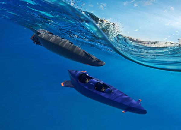 Ortega bouwt zogeheten 'open duikboten'.