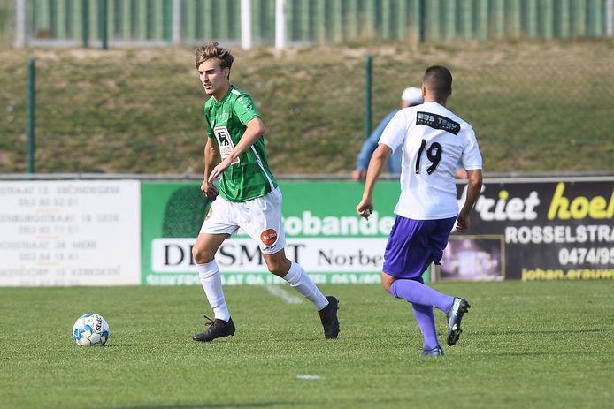 Sibren Mertens scoorde de 2-0 voor Lede.