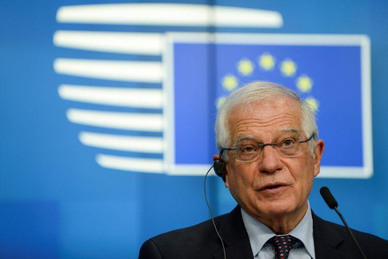 De Europese hoge vertegenwoordiger voor buitenlands beleid Josep Borrell. Beeld REUTERS