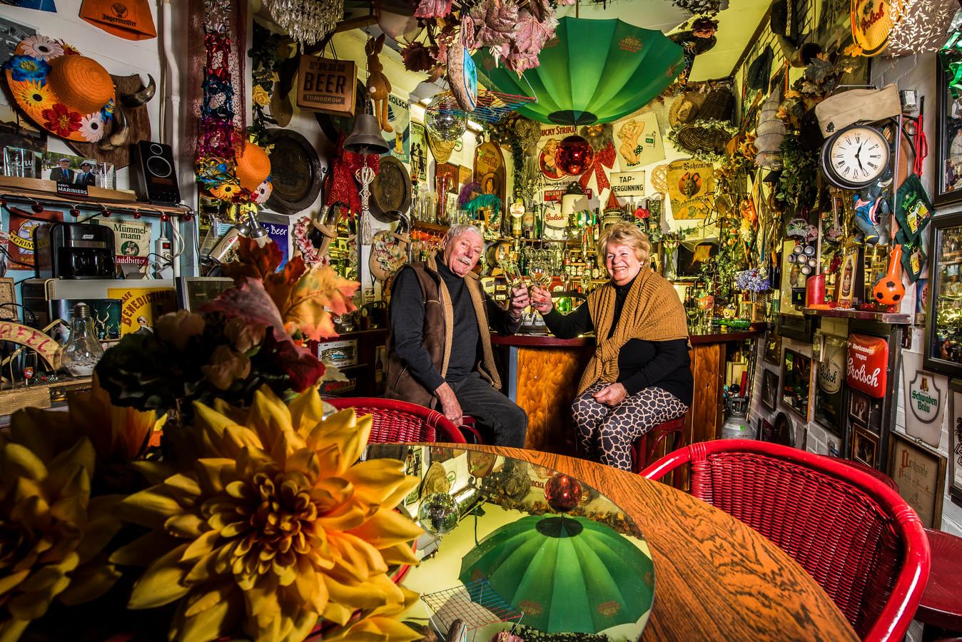 Deur staat altijd open bij Johan en Ini Kramer uit Losser. Foto Reinier van Willigen
