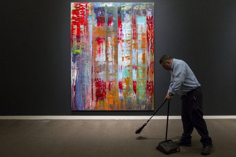 'Abstraktes Bild' van Gerhard Richter. Beeld REUTERS