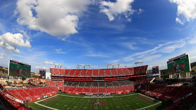 Super Bowl gaat door met 22.000 fans, 7.500 gevaccineerde zorgverleners krijgen gratis ticket