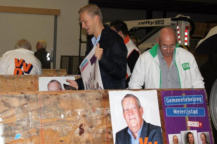 De 19-jarige lijsttrekker Thijs van Zutphen.