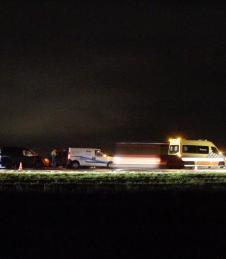 A28 van Zwolle naar Amersfoort weer vrij na kettingbotsing bij Putten