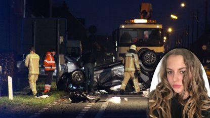 """Emilie (20) sterft bij ongeval met vier inzittenden, chauffeur (23) had gedronken: """"Verslagenheid bij collega's is groot"""""""