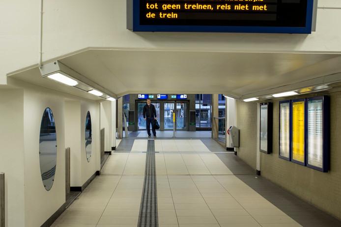 Het station Zutphen op archiefbeeld.
