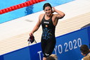 Belgian Fanny Lecluyse pictured after the semi-final of the 200m breaststroke women swimming event on the seventh day of the 'Tokyo 2020 Olympic Games' in Tokyo, Japan on Thursday 29 July 2021. The postponed 2020 Summer Olympics are taking place from 23 July to 8 August 2021. BELGA PHOTO JASPER JACOBS