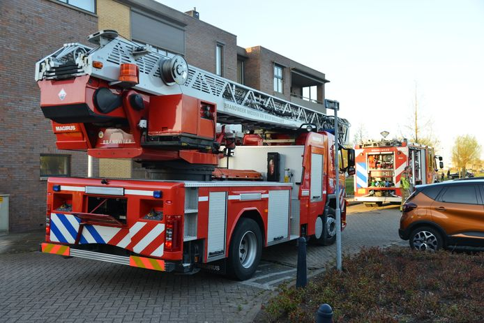 Brand in appartementencomplex Etten-Leur