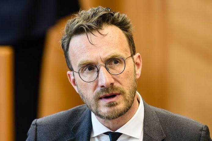 Le secrétaire d'Etat Pascal Smet.