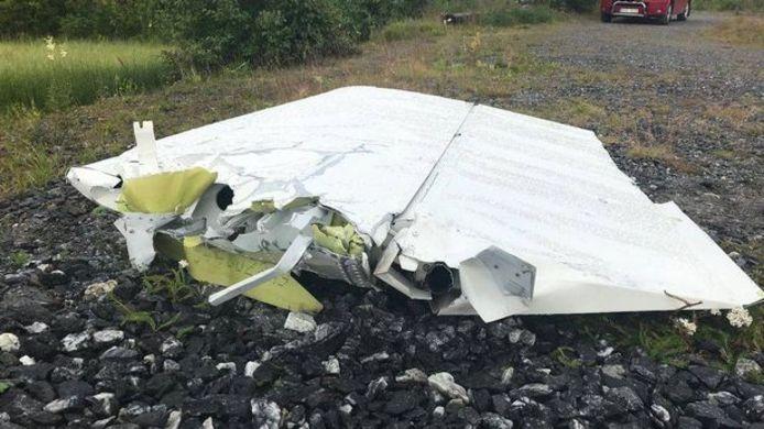 De crash gebeurde vlakbij de stad Umea.