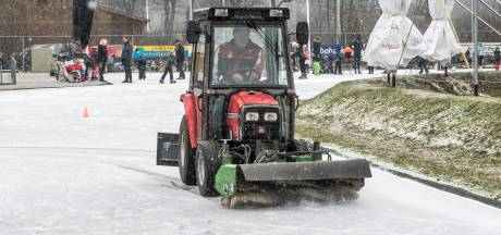 Dag na schaatsmarathon Haaksbergen: 'We hopen het weekeinde nog mee te pakken'