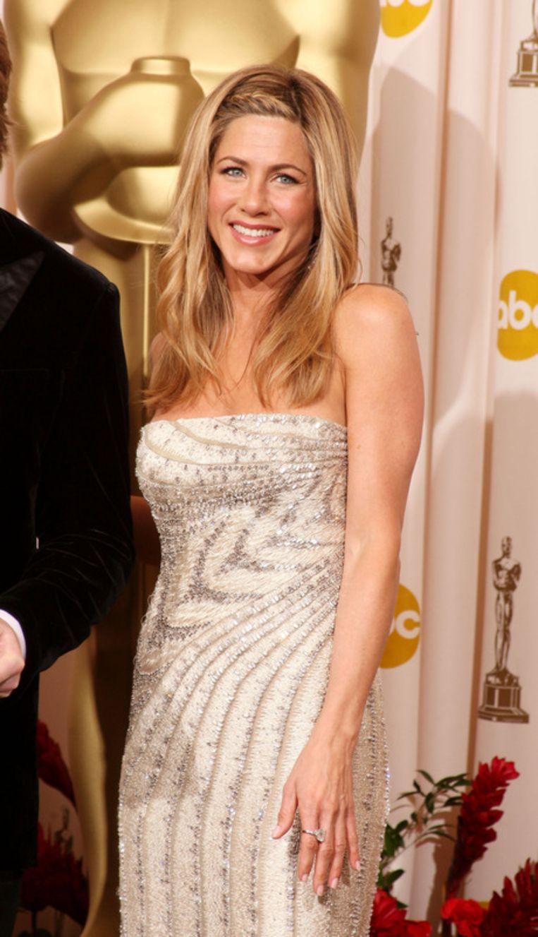 Jennifer Aniston kwam oog in oog te staan met liefdesrivale Angelina Jolie. Beeld UNKNOWN
