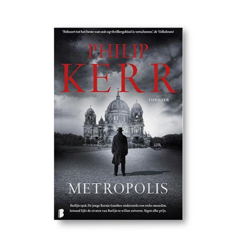 Metropolis - Philip Kerr Beeld Uitgeverij Quercus