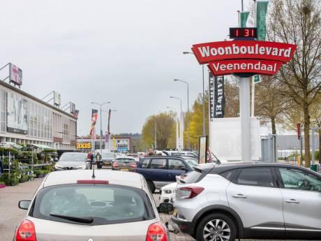 Koopzondag op de meubelboulevard Veenendaal - voorlopig - afgewimpeld