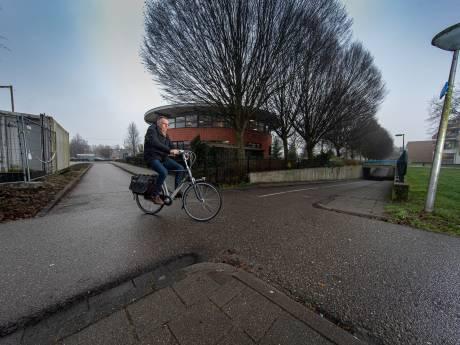 Zijn haaientanden voldoende op dit 'rottige' kruispunt in IJsselmuiden?
