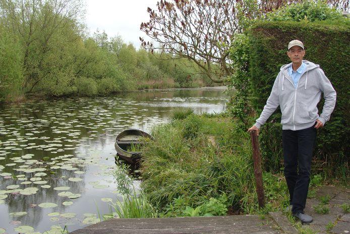 Leon Segond van Banchet van buurtvereniging Zouweboezem wil meepraten over het natuurgebied.