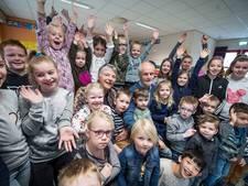 Afscheid van een leven in het onderwijs in Holten