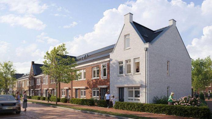 Klipper, een deelgebied van nieuwbouwwijk De Haven, krijgt 48 energieneutrale eengezinswoningen.