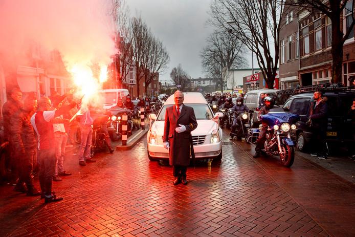De uitvaart van Diego in Dordrecht.