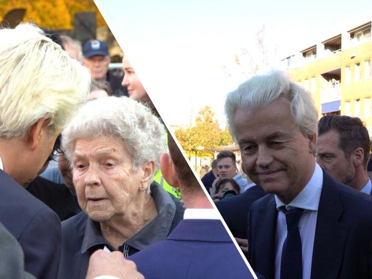Wilders bezoekt Ter Apel: 'Ouderen durven winkel niet in'