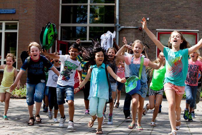 'De zomervakantie is voor leraren geen reden om hun ongenoegen kenbaar te maken.'