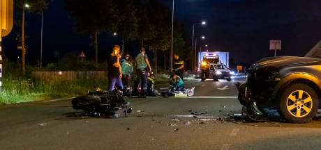 Ernstig ongeluk in Zaltbommel, motorrijder met spoed naar ziekenhuis