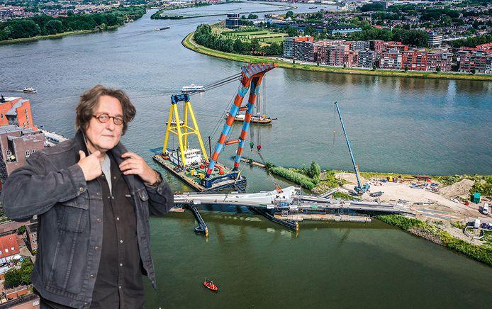 """Kees Thies: ,,De toekomst zal uitwijzen hoe die brug straks in de volksmond gaat heten."""""""