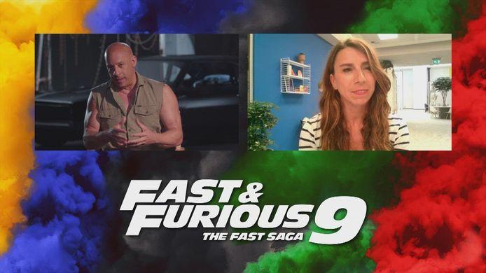 VTM Nieuws-journalist Aagje Vanthomme had een exclusief gesprek met 'Fast & Furious'-acteur Vin Diesel.