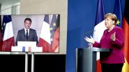 Merkel en Macron akkoord over Europees steunplan van 500 miljard euro