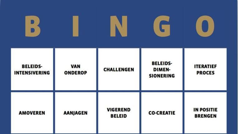 Kaart 1 van de Raadstaalbingo Beeld periklesinstituut.nl