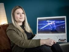 Faye (24) uit Denekamp houdt hardstylefeesten tegen kanker: 'Mijn vader zou trots zijn'