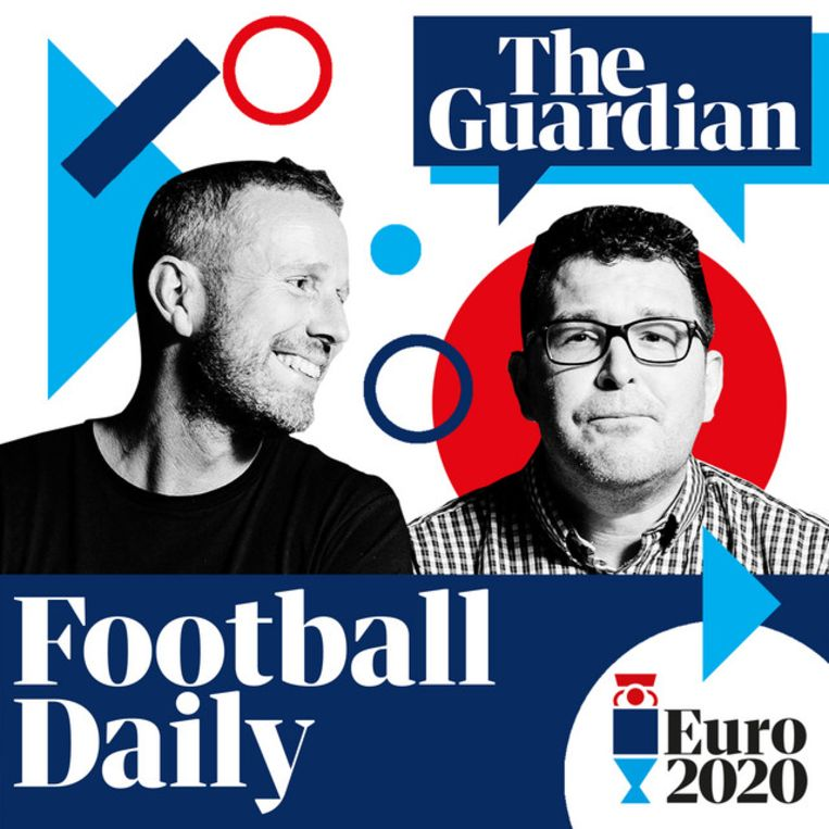 Football Daily, met Max Rushden en Barry Glendenning. Beeld The Guardian